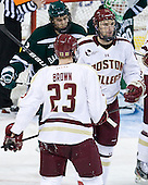 Brooks Dyroff (BC - 14) - The Boston College Eagles defeated the visiting Dartmouth College Big Green 6-3 (EN) on Saturday, November 24, 2012, at Kelley Rink in Conte Forum in Chestnut Hill, Massachusetts.