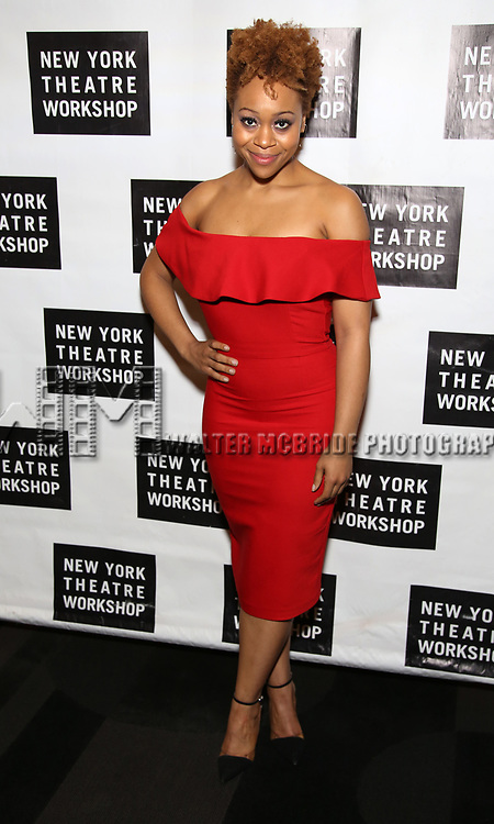 Tamika Lawrence attends New York Theatre Workshop's 2017 Spring Gala at the Edison Ballroom on May 15, 2017 in New York City.