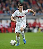 Fussball  1. Bundesliga  Saison 2013/2014  8. Spieltag VfB Stuttgart - SV Werder Bremen     05.10.2013 Christian Gentner (VfB Stuttgart) am Ball