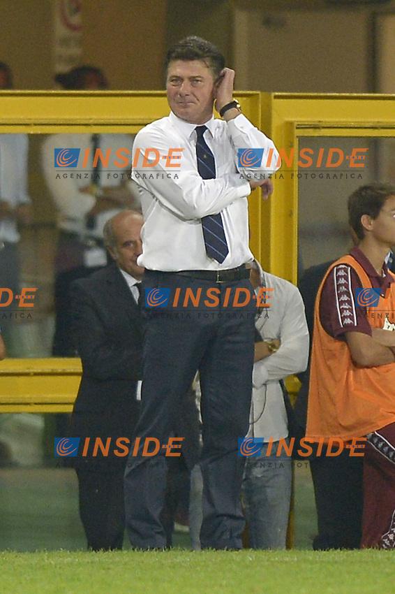 Walter Mazzarri Inter<br /> Torino 31-08-2014, Stadio Olimpico, Football Calcio 2014/2015 Serie A, Torino - Inter, Foto Filippo Alfero/Insidefoto