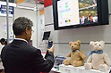 November 9th, 2011 : Tokyo, Japan &ndash; Bear Cub social robot reacts during International Robot Exhibition 2011. This show is held to showcase new robots and high technology equipments at the Tokyo International Exhibit Center. International Robot Exhibition 2011 runs from November 9 &ndash; 12. (Photo by Yumeto Yamazaki/AFLO)