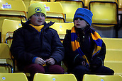 15.01.2013. Torquay, England. Young Torquay United fans before the League Two game between Torquay United and Exeter City from Plainmoor.