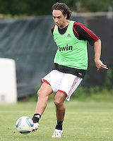 Alessandro Nesta of AC Milan during a practice session at RFK practice facility in Washington DC on May 24 2010.