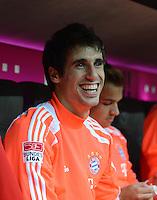 FUSSBALL   1. BUNDESLIGA  SAISON 2012/2013   2. Spieltag  02.09.2012 FC Bayern Muenchen - VfB Stuttgart       Javi Martinez (FC Bayern Muenchen)