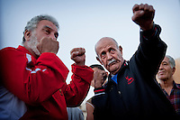 """Lesson n°1 for Hadi Jamhour to make a good competition: """" it is necessary to concentrate on his opponent, while keeping an ear to the instructions of the coach """"."""
