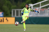 Cary, North Carolina  - Sunday May 21, 2017: Sabrina D'Angelo during a regular season National Women's Soccer League (NWSL) match between the North Carolina Courage and the Chicago Red Stars at Sahlen's Stadium at WakeMed Soccer Park. Chicago won the game 3-1.