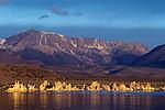 Sunrise Tufa State Reserve Mono Lake American Southwest California State USA