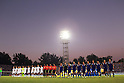 Two team group line-up,SEPTEMBER 6, 2011 - Football / Soccer :2014 FIFA World Cup Asian Qualifiers Third round Group C match between Uzbekistan 1-1 Japan at Pakhtakor Markaziy Stadium in Tashkent, Uzbekistan. (Photo by AFLO)