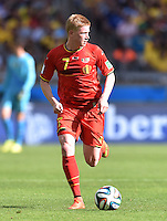 FUSSBALL WM 2014  VORRUNDE    Gruppe H     Belgien - Algerien                       17.06.2014 Kevin De Bruyne (Belgien) am Ball