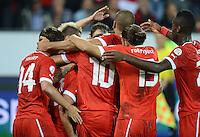 Fussball International  WM Qualifikation 2014   11.09.2012 Schweiz - Albanien JUBEL Schweiz