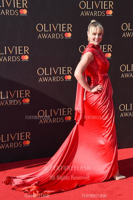 Camilla Kerslake at The Olivier Awards 2017 at the Royal Albert Hall, London, UK. <br /> 09 April  2017<br /> Picture: Steve Vas/Featureflash/SilverHub 0208 004 5359 sales@silverhubmedia.com