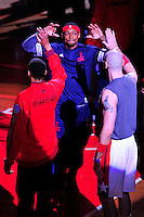 Bradley Beal of the Wizards during player introduction at the Verizon Center in Washington, D.C. on Friday, October 9, 2015.  Alan P. Santos/DC Sports Box