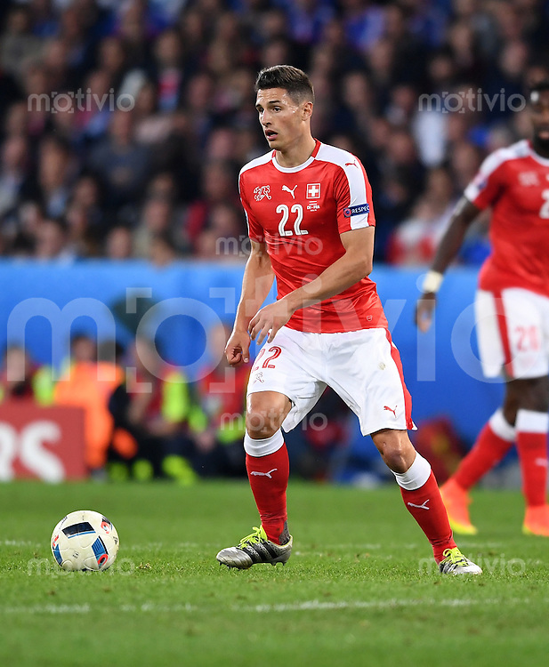 FUSSBALL EURO 2016 GRUPPE A IN LILLE Schweiz - Frankreich     19.06.2016 Fabian Schaer (Schweiz)