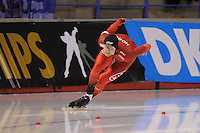SPEEDSKATING: CALGARY: Olympic Oval, 25-02-2017, ISU World Sprint Championships, 500m Men, Håvard Holmefjord Lorentzen (NOR), ©photo Martin de Jong