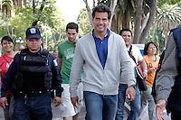 CRISTIAN DE LA FUENTE en zocalo de PueblaMX