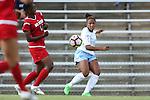 16 September 2016: North Carolina's Maya Worth. The University of North Carolina Tar Heels hosted the North Carolina State University Wolfpack in a 2016 NCAA Division I Women's Soccer match. NC State won the game 1-0.
