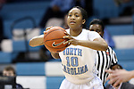 02 January 2014: North Carolina's Danielle Butts. The University of North Carolina Tar Heels played the James Madison University Dukes in an NCAA Division I women's basketball game at Carmichael Arena in Chapel Hill, North Carolina.