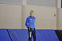 SPEED SKATING: SALT LAKE CITY: 18-11-2015, Utah Olympic Oval, ISU World Cup, training, Marianne Timmer (trainer/coach Team Continu), ©foto Martin de Jong
