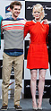 "June 13, 2012, Tokyo, Japan - Actor Andrew Garfield (left) and actress Emma Stone (right) attend the press conference for the film ""The Amazing Spider-Man."" The movie will be released in Japanese theaters on June 30, 2012. (Photo by Christopher Jue/Nippon News)"