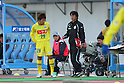 (L to R) Tomoyasu Hirose (Montedio), Tatsuya Makiuchi (Montedio), MARCH 5, 2011 - Football : 2011 J.LEAGUE Division 1 between Kawasaki Frontale 2-0 Montedio Yamagata at Kawasaki Todoroki Stadium, Kanagawa, Japan. (Photo by YUTAKA/AFLO SPORT) [1040]