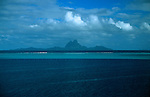 Oceania, South Pacific, French Polynesia, Tahiti, Bora Bora.