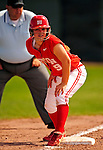 25 April 2009: Boston University Terriers' Infielder Melissa Dubay, a Senior from Auburn, WA, action against the University of Vermont Catamounts at Archie Post Field in Burlington, Vermont. Sadly, the Catamounts are playing their last season of softball, as the program has been marked for elimination due to budgetary constraints at the University. Mandatory Photo Credit: Ed Wolfstein Photo