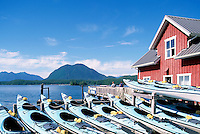 Tofino, Vancouver Island, BC, British Columbia, Canada - Ocean Kayaks for Rent, Summer