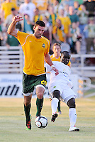 Jeff Cosgriff-AC St Louis, Alexander Nimo-Portland Timbers...AC St Louis defeated Portland Timbers 3-0 at Anheuser-Busch Soccer Park, Fenton, Mssouri.