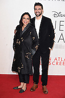 LONDON, UK. October 9, 2016: Director Mira Nair &amp; son Zohran Mamdani at the London Film Festival 2016 premiere of &quot;Queen of Katwe&quot; at the Odeon Leicester Square, London.<br /> Picture: Steve Vas/Featureflash/SilverHub 0208 004 5359/ 07711 972644 Editors@silverhubmedia.com