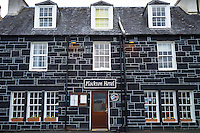 The Plockton Hotel and restaurant in the Highlands of Scotland