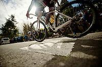 Fleche Wallonne 2012..steep Mur de Huy