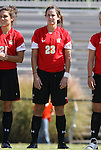 04 October 2009: Maryland's Megan Watson. The University of Maryland Terrapins defeated the Duke University Blue Devils 4-0 at Koskinen Stadium in Durham, North Carolina in an NCAA Division I Women's college soccer game.