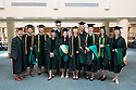 Catherine Mygatt, left, Lincoln Heath, Patrick Huffer, Claire Ankuda, Jonathan Folkl, Mimi Ogawa, Meghan Malgeri, Nolan Sandygren,  Mckalyn LeClerc, Renee Bratspis, LIndsay Corse. Class of 2012 commencement.