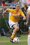 20 September 2009: LSU's Malorie Rutledge. The Duke University Blue Devils played the Louisiana State University Tigers to a 2-2 tie after overtime at Koskinen Stadium in Durham, North Carolina in an NCAA Division I Women's college soccer game.