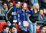 St Johnstone v Dundee United...26.09.15  SPFL   McDiarmid Park, Perth<br /> Saints fans give grief to ref Bobby Madden<br /> Picture by Graeme Hart.<br /> Copyright Perthshire Picture Agency<br /> Tel: 01738 623350  Mobile: 07990 594431
