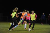 Talententraining Damesvoetbal 021215