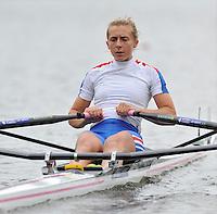 Amsterdam, NETHERLAND, GBR BLW1X. Katherine COPELAND.  2011 FISA U23 World Rowing Championships, {dow], {date} [Mandatory credit:  Intersport Images].