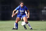 09 September 2011: Duke's Mollie Pathman. The Duke University Blue Devils defeated the Texas A&M Aggies 7-2 at Koskinen Stadium in Durham, North Carolina in an NCAA Division I Women's Soccer game.