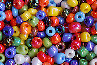 Multi colored beads