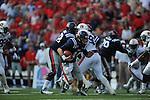 Ole Miss quarterback Bo Wallace (14) vs. Auburn at Vaught-Hemingway Stadium in Oxford, Miss. on Saturday, October 13, 2012.