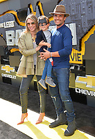 Juan Pablo Raba &amp; Monica Fonseca at the world premiere of &quot;The Lego Batman Movie&quot; at the Regency Village Theatre, Westwood, Los Angeles, USA 4th February  2017<br /> Picture: Paul Smith/Featureflash/SilverHub 0208 004 5359 sales@silverhubmedia.com