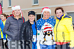 Liae Dee, Clodagh Whittleton, Kathyrn Shaw and Fiona Hyde at the Killorglin Jingle Run on Saturday morning