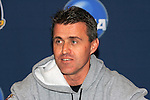 13 December 2008: Sasho Cirovski, Head Coach of Maryland.  The University of Maryland Terrapins held a press conference at Pizza Hut Park in Frisco, TX one day before playing in the NCAA Divison 1 Men's College Cup championship game.