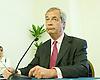 Nigel Farage UKIP Leader<br /> Makes his final speech of the EU Referendum Campaign<br /> 23rd June 2016 <br /> Emmanuel Centre, Marsham Street, Westminster<br /> <br /> <br /> Photograph by Elliott Franks <br /> Image licensed to Elliott Franks Photography Services