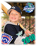 8 May 2010: Portrait and Team Photos of the Burlington American Little League athletes at Calahan Park in Burlington, Vermont. Mandatory Credit: Ed Wolfstein Photo