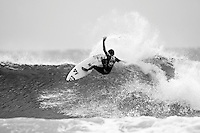Sunday (March 2 2008): The Quiksilver Pro Gold Coast was held today at  Snapper Rocks, Coolangatta, Queensland, Australia. Orgainizers ran Heats 1 to 10 of Round There with standout performances from JORDY SMITH (ZAF) and the current world champion MICK FANNING (AUS) who both moved into Round Four.  Photo: Joli