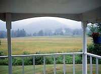 VERMONT SCENES<br /> View From Farmhouse Porch
