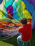 The Quechee  Balloon Festival in Quechee, VT, USA