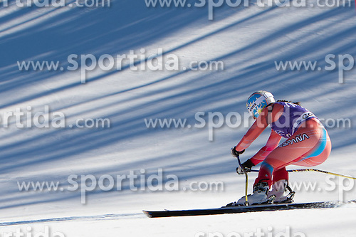 13.01.2012, Pista Olympia delle Tofane, Cortina, ITA, FIS Weltcup Ski Alpin, Damen, Abfahrt, 2. Training, im Bild Carolina Ruiz Castillo (SPA) // Carolina Ruiz Castillo of Spain during ladies downhill 2nd training of FIS Ski Alpine World Cup at 'Pista Olympia delle Tofane' course in Cortina, Italy on 2012/01/13. EXPA Pictures © 2012, PhotoCredit: EXPA/ Johann Groder