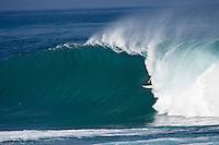 JAMIE O'BRIEN (HAW) surfing Backdoor, North Shore of Oahu, Hawaii. Photo: joliphotos.com